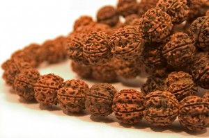 brown mala beads